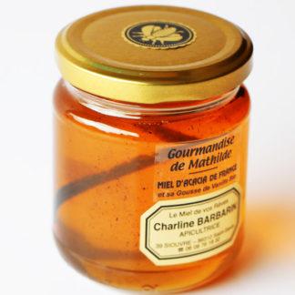 Mielà la saveur originale acacia et sa gousse de vanille