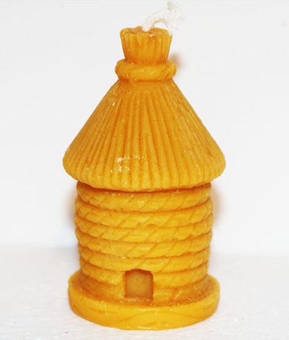 Bougie cire d'abeille Ruche